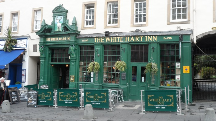 The oldest pub in Edinburgh.