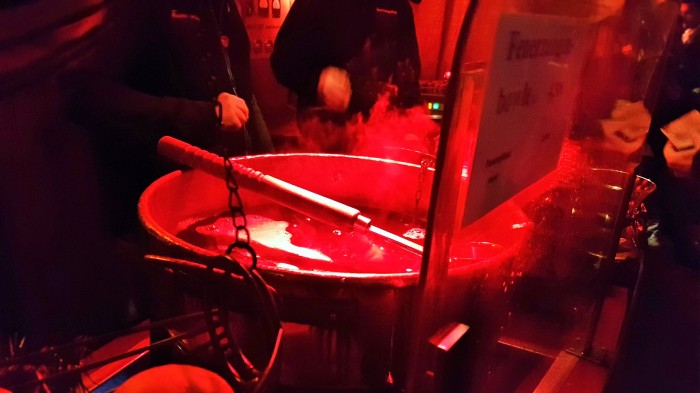 This is what Feuerzangenbowle looks like after you've had a few. It's a Christmas Market killer! ©The Music Producer - Frank Böster
