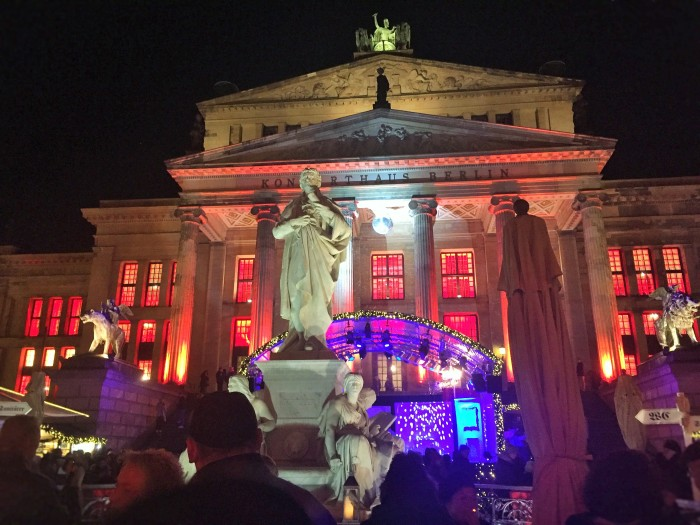 The WeihnachtsZauber Gendarmenmarkt or the Gendarmenmarkt Christmas Market in Berlin, is one of the most beautiful Christmas Markets in Germany!