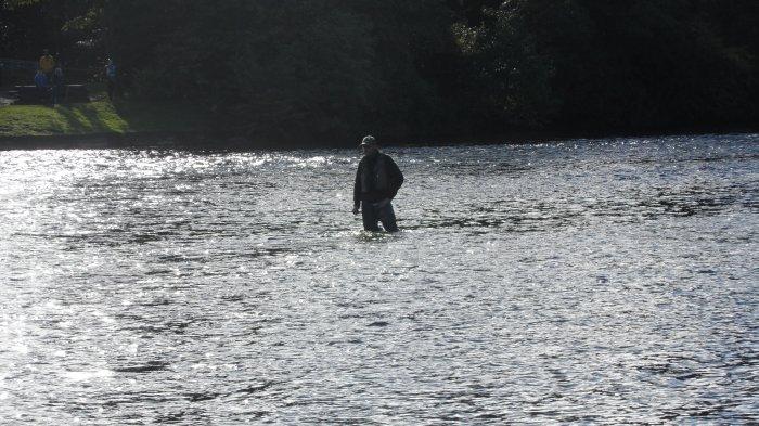 Serious fishing.