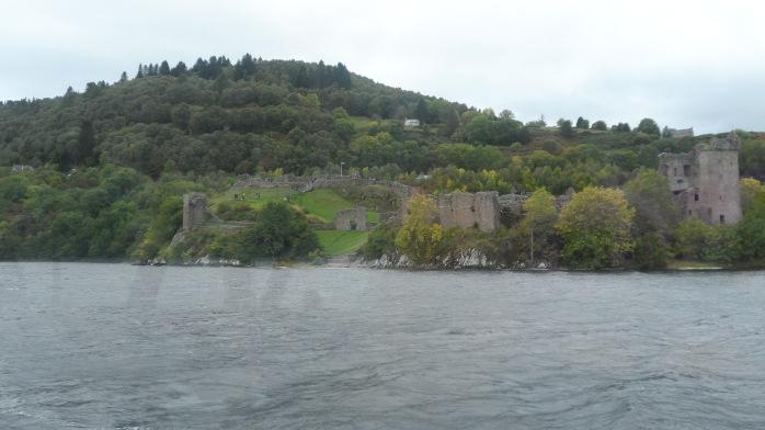 A view of Urquhart Castle