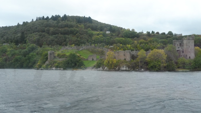 A view of Urquhart Castle