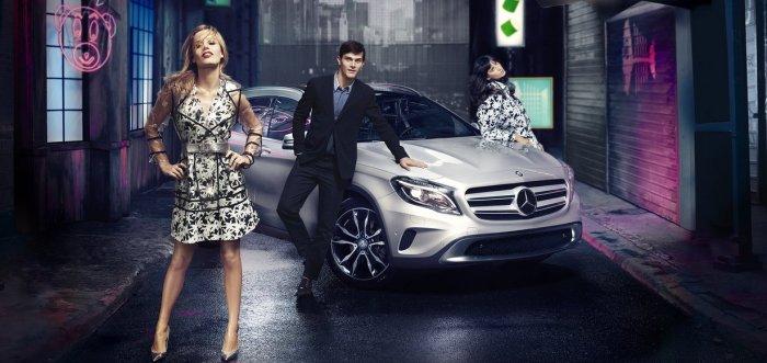'Mercedes-Benz Fashion Week Berlin'- with Georgia May Jagger 2014