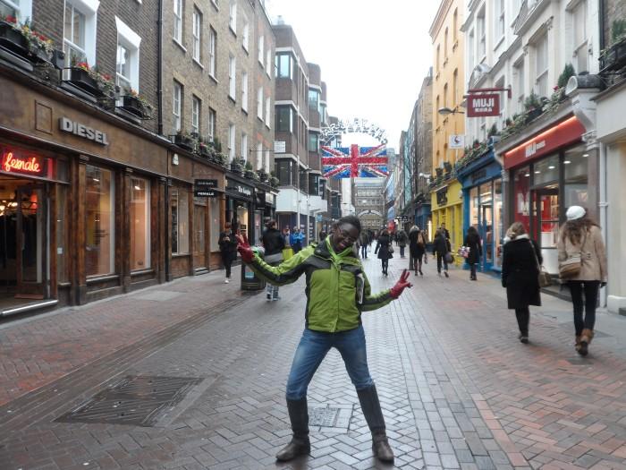 Me, myself & I in London!