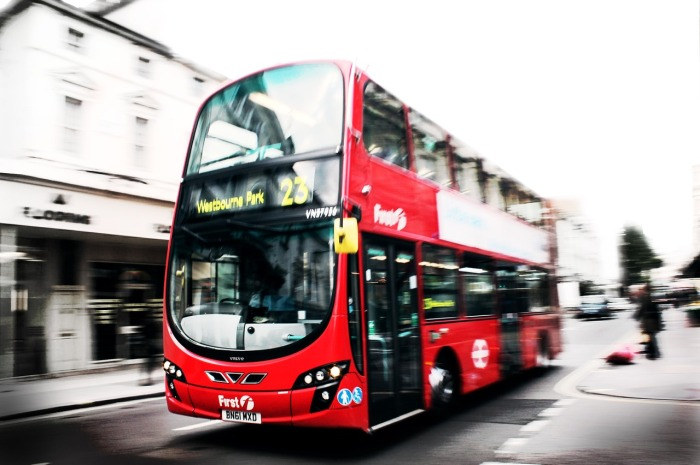 Use alternative transport: Take the bus!
