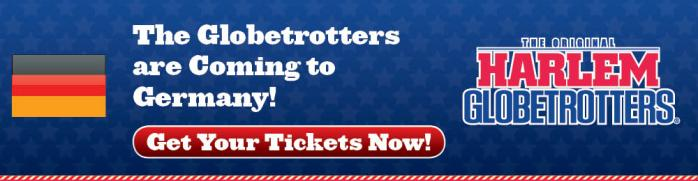 The Harlem Globetrotters are coming to Germany! Courtesy of The Harlem Globetrotters - Basketball.