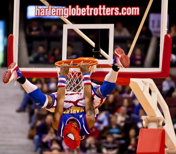 """""""Firefly"""" Fisher: The Harlem Globetrotters - Basketball."""
