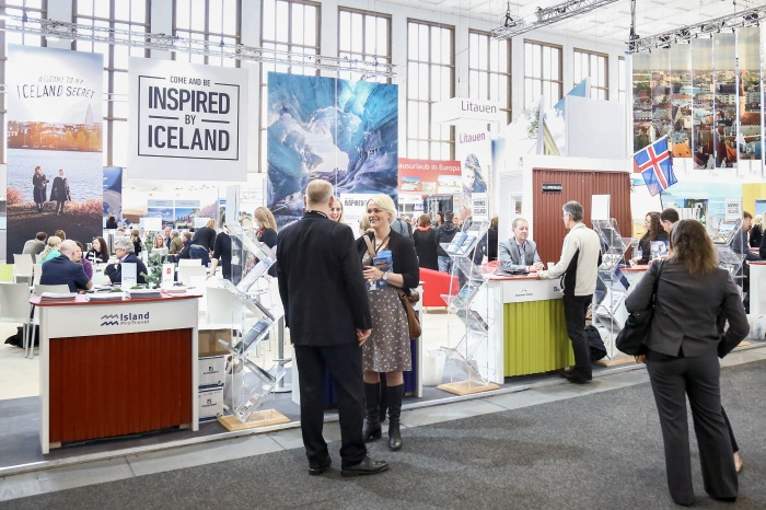 Iceland at the ITB Berlin.