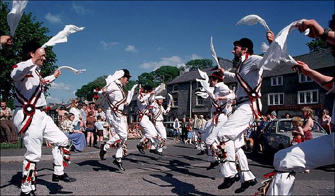 Morris Dancing. After you. No. After you!