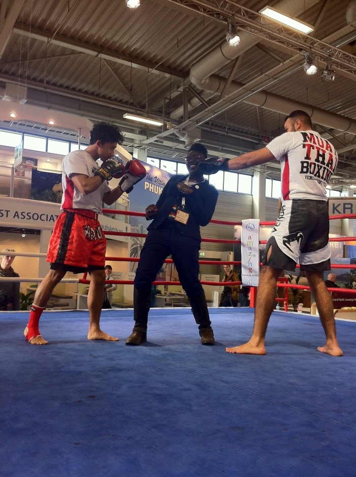 Thai Boxing at the ITB Berlin.