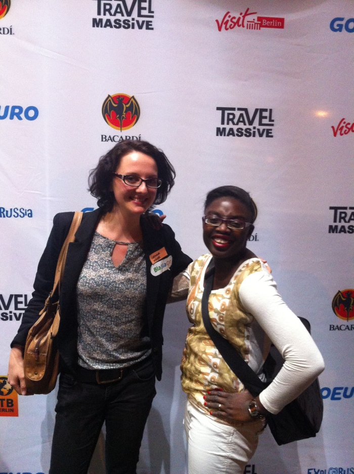 Myself and BlaBlahCar at the Travel Massive and GoEuro joint pre ITB Berlin Pre-Launch Party