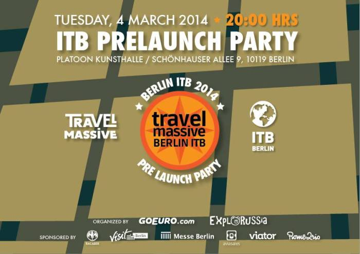 Travel Massive ITB Berlin Pre-launch Party