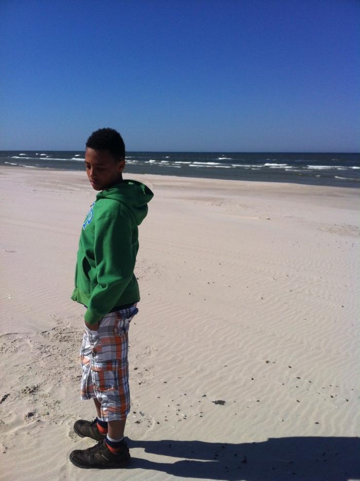 All alone on the Polish Baltic Sea!