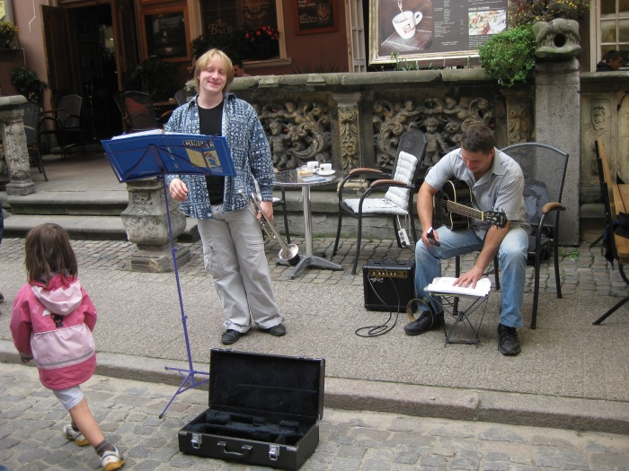Or you could sing for your dinner in Poland!