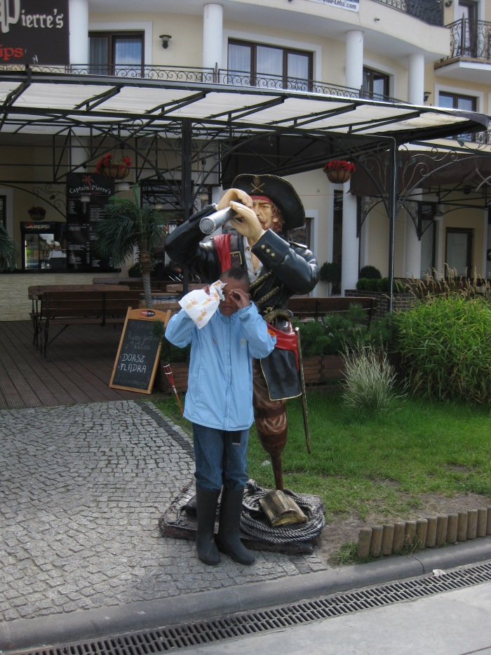 Keep an eye out for bargains! Leba, Poland.