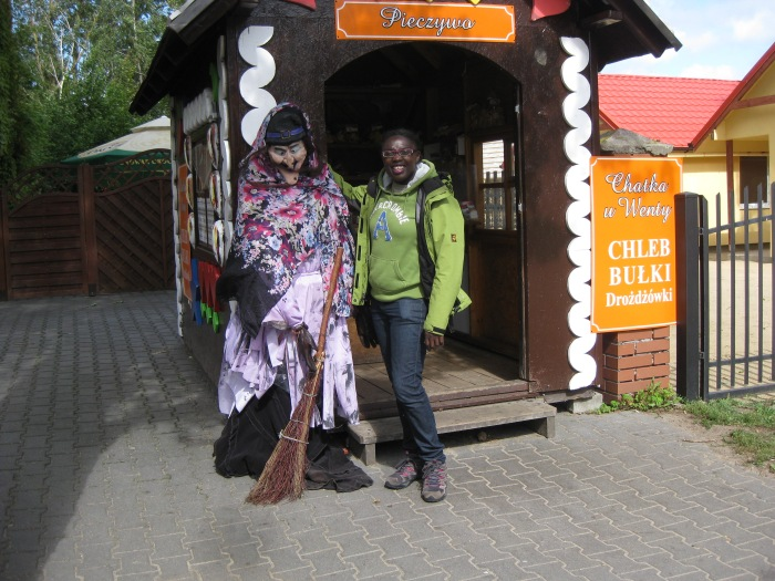 Witches and cake in Leba, Poland!