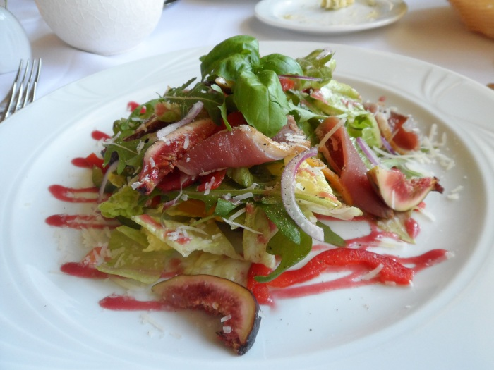 A fantastic salad. With figs!