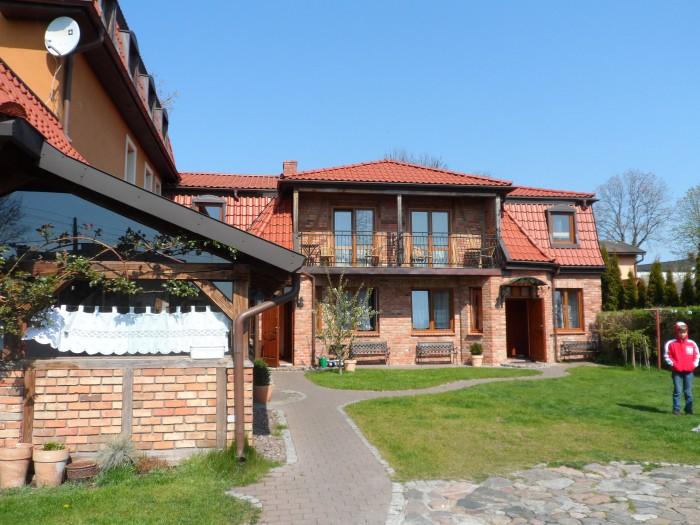 Villa Akacja, Leba. In Poland.
