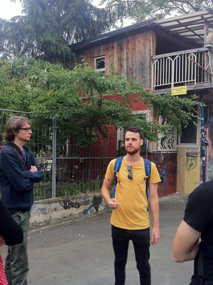 Liam - our tour guide.