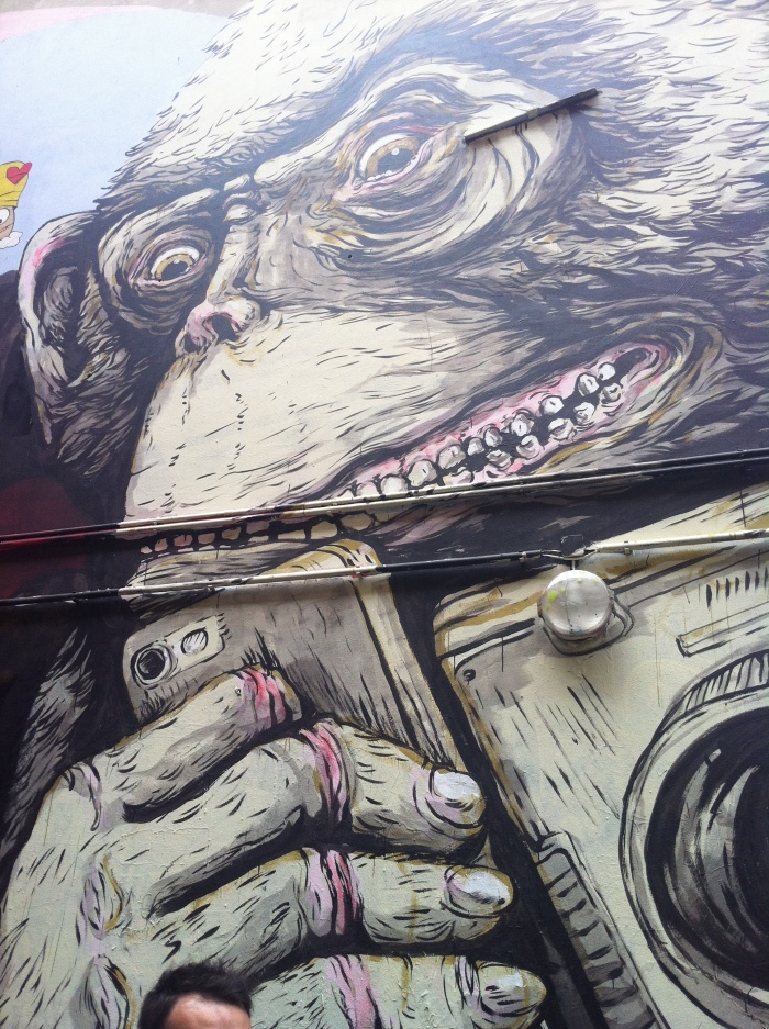 Really huge Street Art!