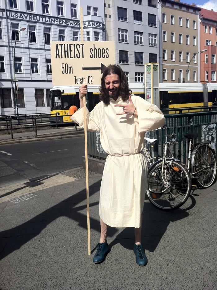 Cheeky Jesus!