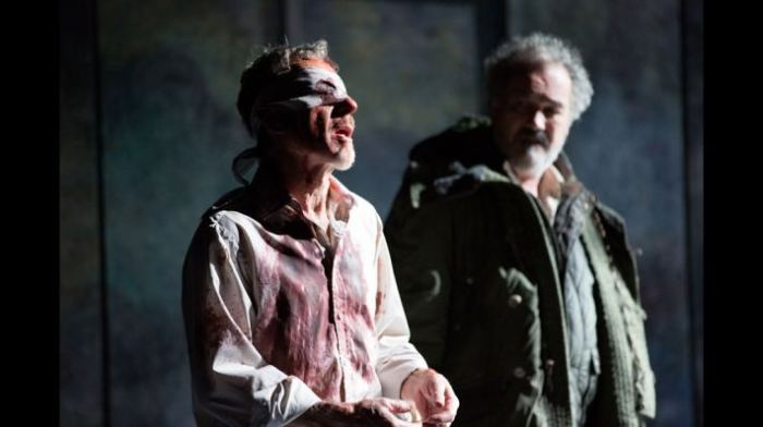 The Earl of Gloucester (Stephen Boxer) in King Lear.