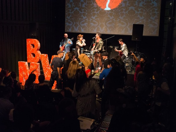 Live music and bands at the Berlin Music Video Awards. Photo credit: Steve Jones.