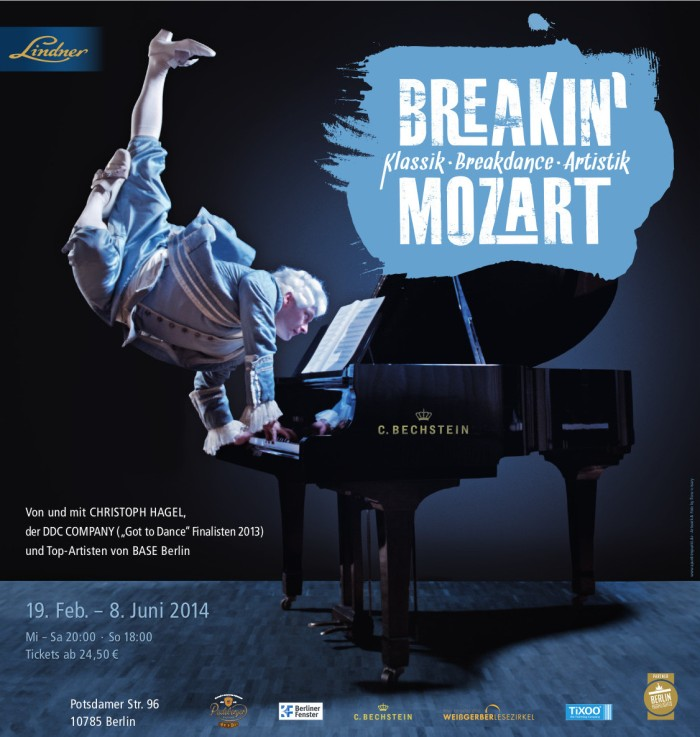 Breakin' Mozart Artwork. Last show. June 8th.