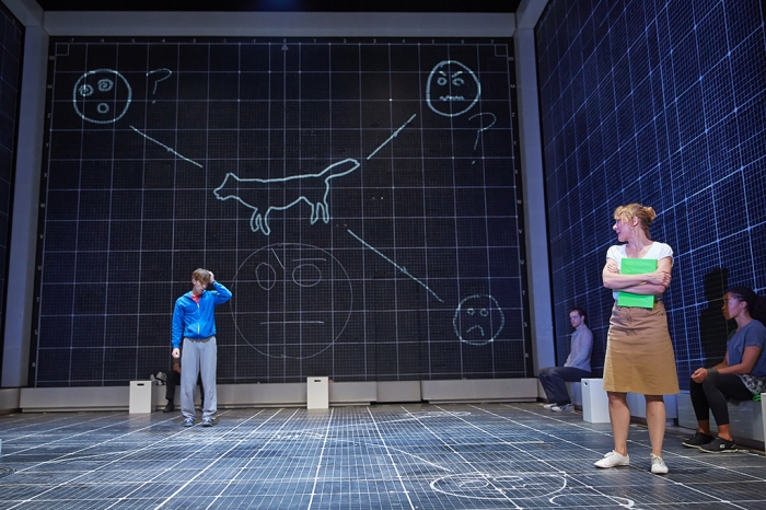 The Curious Incident Original West End cast. Photos: Brinkoff and Mogenburg.