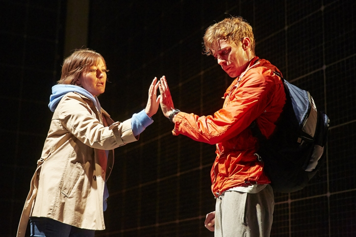The Curious Incident Original West End Cast. Photo: Brinkoff and Mogenburg