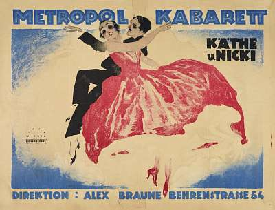 Berlin in the 1920's. © Deutsches Plakat Museum im Museum Folkwang, 2012