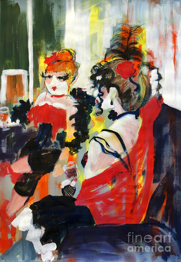 Burlesque Night by Joanne Claxton. Courtesy of fineartamerica.com