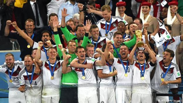 FIFA World Cup Winners: Germany 2014. Hurrah!