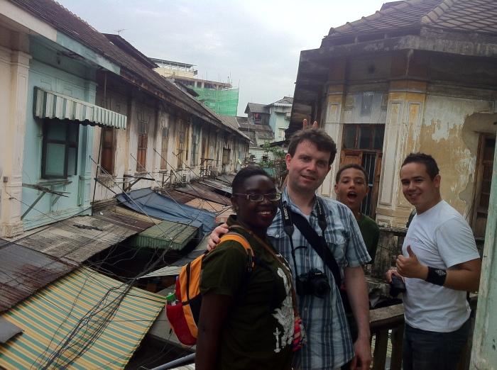 Living history all around us in Bangkok, Thailand.