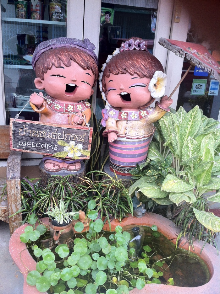 This smiling couple is everywhere in Thailand! Ah well, you can always come back. You're welcome!