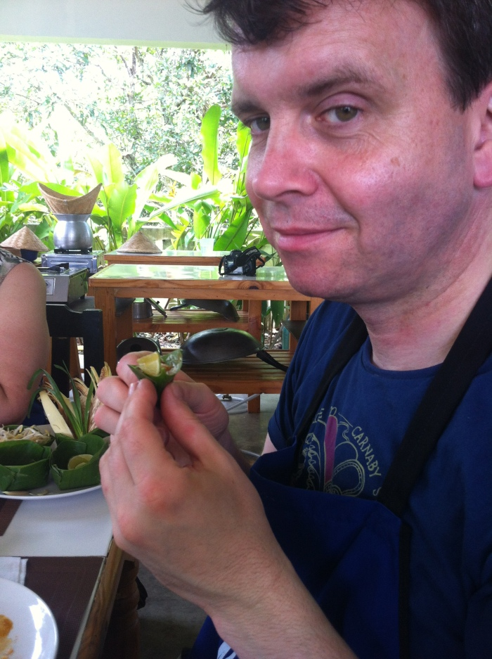 A loving husband, in Thailand!