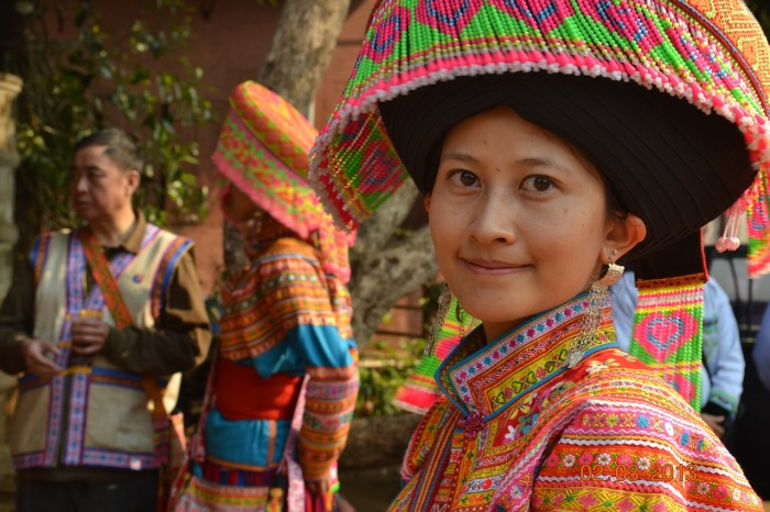Thailand's hill tribe people in Chiang Mai.