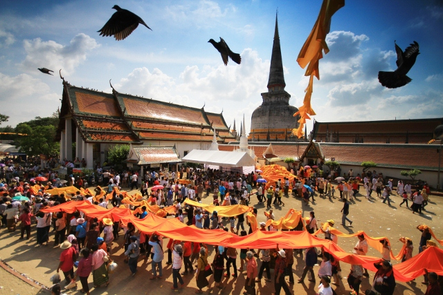 At the Festival of Good Fortune. Photo@ Tourism Authority of Thailand