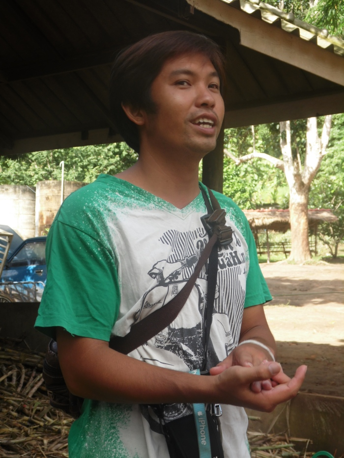 Our guide- Vinai!