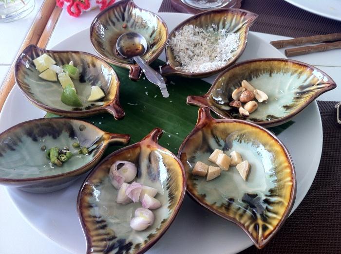 Thai ingredients full of Oomph!
