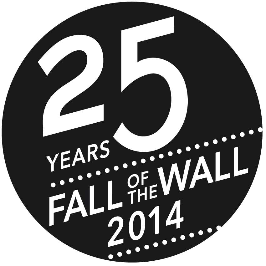 25 Years Fall of the Wall Logo