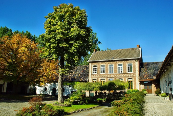 A Flemish farmhouse, in France.