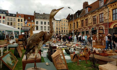 Northern France. At the many flea markets. Photograph: Linda Nylind