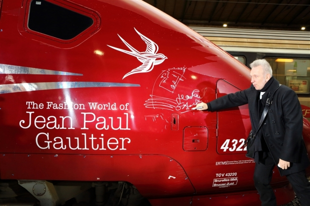 The Thalys fast-speed train. If it's good enough for the wonderful French designer John Paul Gaultier, it's good enough for you! Photo@ Thalys - Maurein