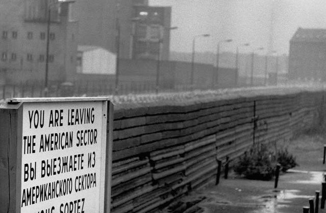 You are leaving the American Sector! Photo credit: © Owen Franken/Corbis
