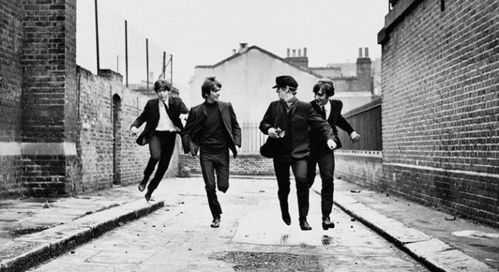 A Hard Days' Night - The Beatles.