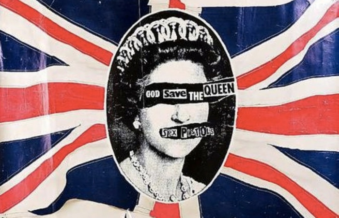 God Save the Queen in Cool Britannia!