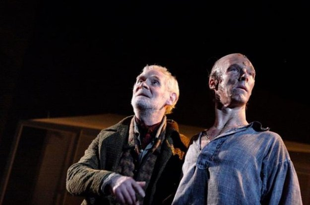 De Lacey (Karl Johnson) and The Creature (Benedict Cumberbatch).