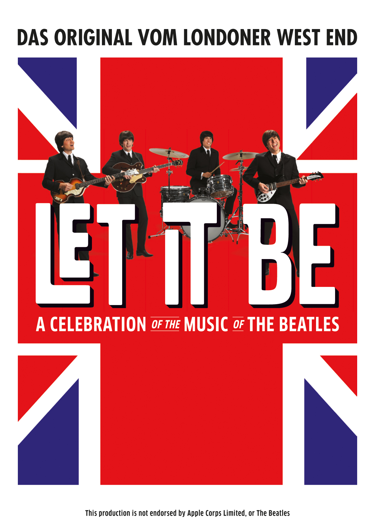 Let It Be Badge