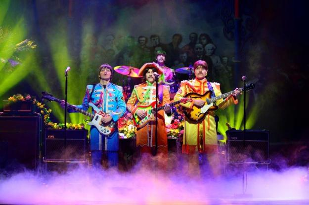 Sgt. Pepper's Lonely Hearts Club Band - Let It Be.  Photo@ Paul Coltas